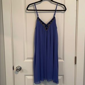 Chiffon layers dress